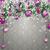christmas frozen green fir twigs purple baubles grey ornaments stock photo © limbi007
