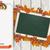 bannière · feuillage · action · de · grâces · Turquie · ruban · eps - photo stock © limbi007