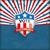 États-Unis · Amérique · bouclier · étoiles · pavillon · blanche - photo stock © limbi007