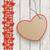 legno · rosso · tovaglia · cuori · cartone · cuore - foto d'archivio © limbi007