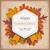 autumn foliage vintage hexagon emblem thanksgiving stock photo © limbi007