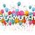 balões · festa · de · aniversário · feliz · paisagem - foto stock © limbi007