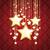 dourado · natal · linhas · vermelho · eps - foto stock © limbi007