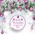 christmas frozen green twigs purple baubles frohe weihnachten stock photo © limbi007