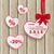 fehér · vásár · szívek · vörös · szalag · papír · eps - stock fotó © limbi007