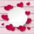 white circle hearts pink wood stock photo © limbi007