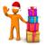 3 ·  · 赤 · クリスマス · 贈り物 · 金 · リボン - ストックフォト © limbi007