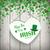hanging green heart shamrock kiss me irish stock photo © limbi007