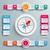 grande · infografica · design · grigio · eps - foto d'archivio © limbi007