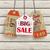3 vintage price sticker house wood stock photo © limbi007