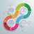 nyilak · infografika · szürke · eps · 10 · vektor - stock fotó © limbi007