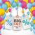 conjunto · colorido · balões · vetor · branco · festa - foto stock © limbi007
