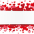 white paper banner red hearts stock photo © limbi007