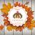 Herbst · Laub · Jahrgang · Emblem · Danksagung · eps - stock foto © limbi007