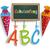 キャンディ · コーン · 文字 · 学校 · eps · 10 - ストックフォト © limbi007