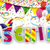 fasching confetti ribbons header stock photo © limbi007