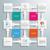 square design cross arrows flowchart stock photo © limbi007