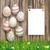 impiccagione · easter · eggs · buona · pasqua · uova · biglietto · d'auguri · vettore - foto d'archivio © limbi007