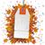 white price sticker autumn foliage percents stock photo © limbi007