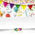 paper banner confetti ribbons carnival header stock photo © limbi007