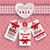 saint · valentin · autocollants · mariage · coeur · design · couple - photo stock © limbi007