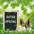 easter eggs blackboard hare ears beech oster special stock photo © limbi007
