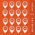 3D · kaart · iconen · ingesteld · straat · reizen - stockfoto © limbi007