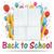 banner · ballonnen · brief · nummers · terug · naar · school · brieven - stockfoto © limbi007