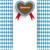 bavarian oktoberfest flyer centre heart stock photo © limbi007