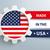USA · címke · ikon · szalag · központi · fényes - stock fotó © limbi007