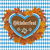 oktoberfest flyer banner gingerbread heart foliage stock photo © limbi007