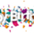 happy birthday confetti sh stock photo © limbi007