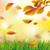 sonbahar · yeşillik · beyaz · metin · eps - stok fotoğraf © limbi007