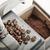 eski · kahve · öğütücü · fasulye · yalıtılmış · beyaz - stok fotoğraf © limpido