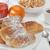 Континентальный · завтрак · свежие · круассан · кофе · апельсиновый · сок - Сток-фото © limpido