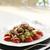 vegetariano · tomates · hierbas · aceite · de · oliva · ajo - foto stock © limpido