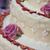свадебный · торт · украшенный · закрывается · клубники · свадьба - Сток-фото © limpido