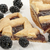 meyve · pasta · dilim · böğürtlen · ahşap · masa · gıda - stok fotoğraf © limpido