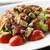Салат · куриные · помидоров · оливками · пластина · продовольствие - Сток-фото © limpido
