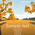 outono · paisagem · luz · projeto · folha · quadro - foto stock © lindwa