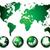 World Map and globe stock photo © lindwa