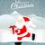 mikulás · korcsolya · jég · hó · tél · kalap - stock fotó © lindwa