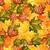 Seamless Autumn Leaves stock photo © lindwa