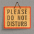 please do not disturb stock photo © lindwa