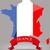 Franciaország · zászló · izolált · fehér · üzlet · háttér - stock fotó © lindwa