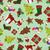 Seamless Christmas background stock photo © lindwa