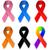awareness ribbons stock photo © lindwa