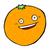 happy comic cartoon orange stock photo © lineartestpilot