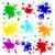 colorato · vernice · isolato · bianco · abstract - foto d'archivio © liolle