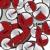 saat · ikon · parlak · kırmızı · yalıtılmış · beyaz - stok fotoğraf © lirch